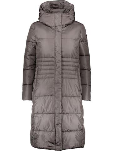 CMP Płaszcz zimowy w kolorze szarym