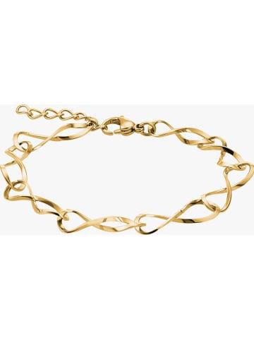 Steel_Art Vergulde armband