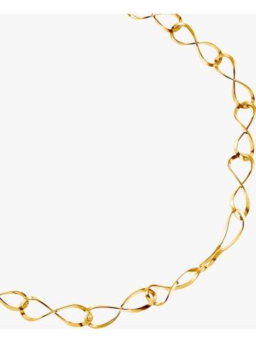 Steel_Art Pozłacany naszyjnik - dł. 45 cm