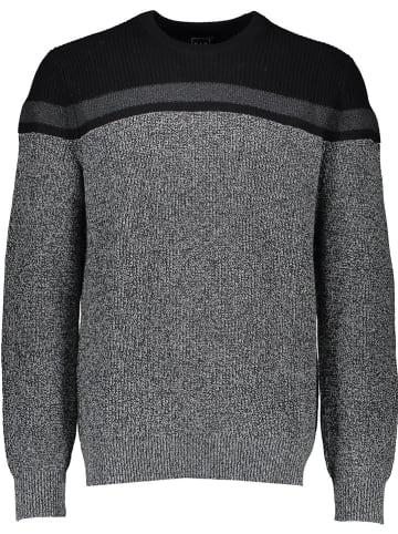 GAP Pullover in Grau/ Schwarz
