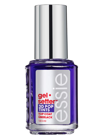 "Essie Overlak ""Gel Setter 3D Pop Tints - 03 Royal paarsc"", 13,5 ml"
