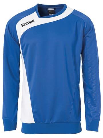 "Kempa Trainingsshirt ""Peak"" in Blau"