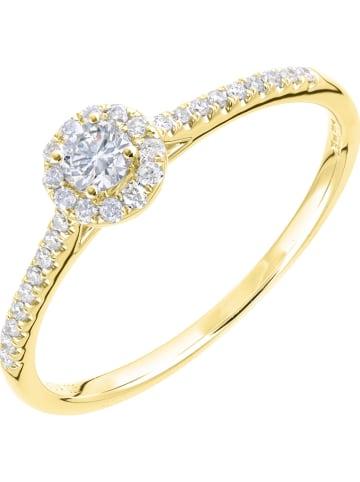 Revoni Gouden ring met diamanten