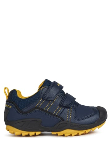 "Geox Sneakers ""New Savage"" blauw"