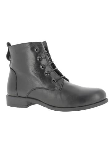 Andrea Conti Leren boots zwart