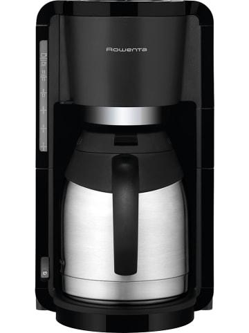 """Rowenta Thermo-Filterkaffeemaschine """"Adagio"""" in Schwarz/ Silber - 1,25 l"""