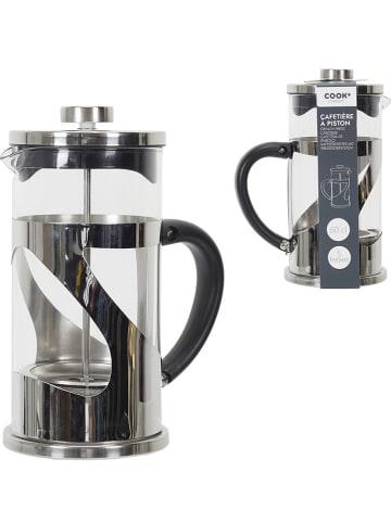 COOK CONCEPT Cafetière zilverkleurig - 600 ml