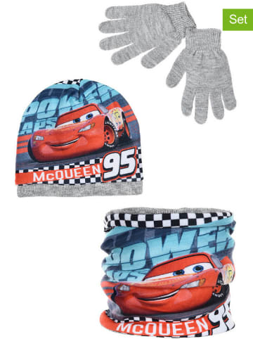 "Disney Cars 3tlg. Winteraccessoires-Set ""Cars"" in Grau"