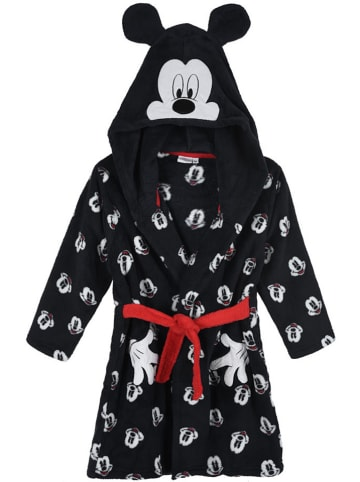 """Disney Mickey Mouse Bademantel """"Mickey Mouse"""" in Schwarz"""