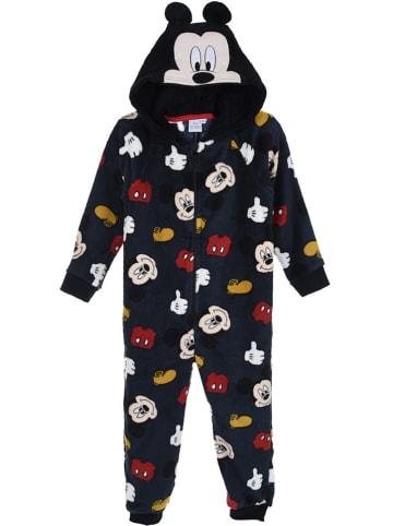 """Disney Mickey Mouse Kombinezon polarowy """"Mickey Mouse"""" w kolorze czarnym"""