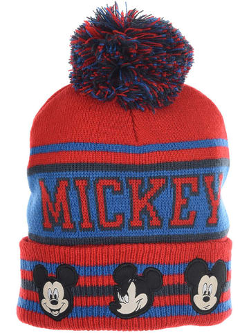 """Disney Mickey Mouse Czapka """"Mickey Mouse"""" w kolorze czerwono-niebieskim"""