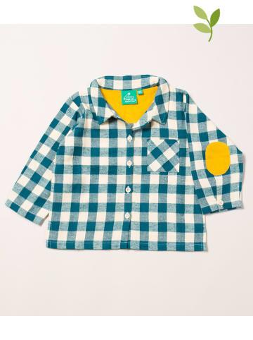 Little Green Radicals Koszula w kolorze niebieskim
