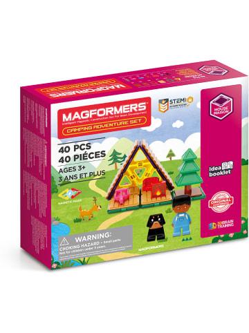 """MAGFORMERS 40-częściowy zestaw magnetyczny """"Magformers Camping Adventure"""""""