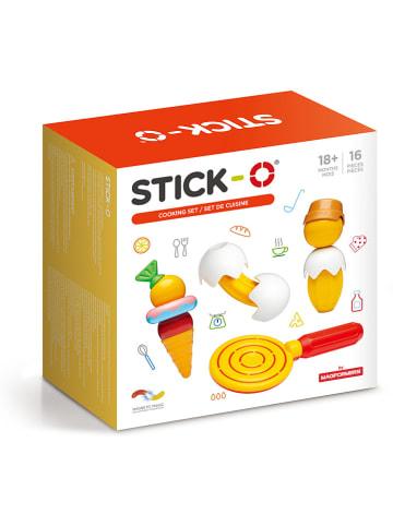 """STICK-O 16-delige magneetspeelset """"STICK-O Cooking"""" - 18 maanden"""