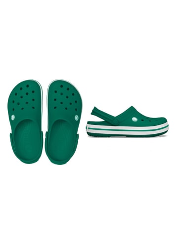 "Crocs Crocs ""Crocband"" donkergroen"