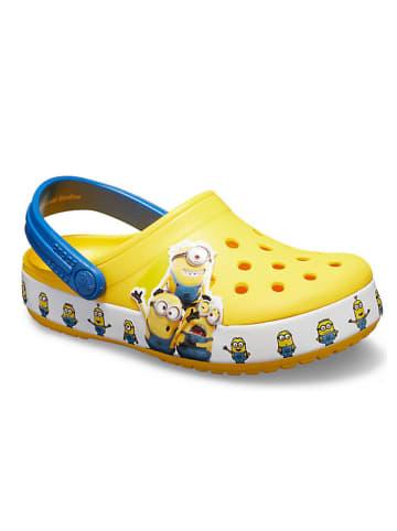 "Crocs Crocs ""FL Minions Multi"" in Gelb/ Blau"