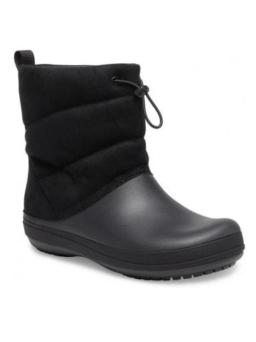 """Crocs Boots """"Crocband Puff"""" zwart"""