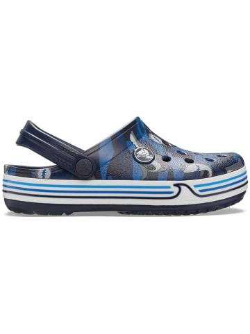 "Crocs Crocs ""Crocband Shark"" donkerblauw"