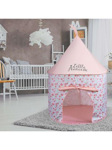 The Home Deco Kids Pop-up-speeltent lichtroze - (H)135 x Ø 100 cm