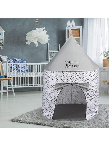 The Home Deco Kids Namiot w kolorze szarym - wys. 135 x Ø 100 cm