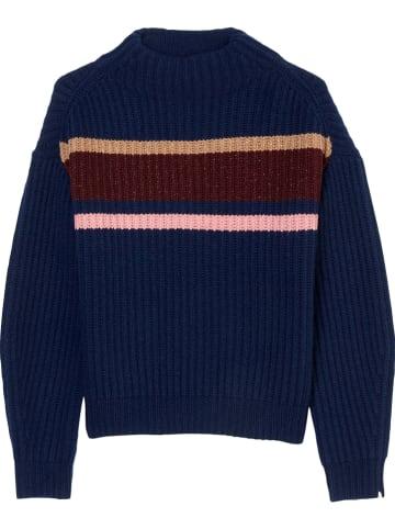Marc O'Polo Junior Sweter w kolorze granatowym