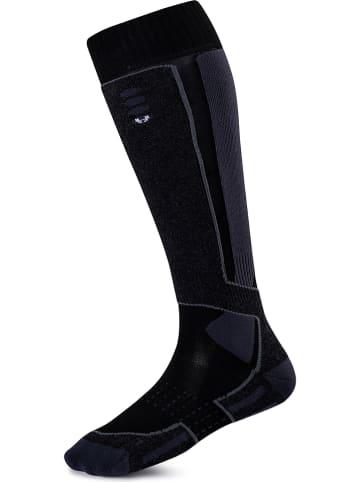 "Hyra Functionele sokken ""Zoncolan"" zwart/antraciet"