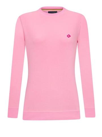 "SIR RAYMOND TAILOR Sweatshirt ""Tamaga"" in Rosa"