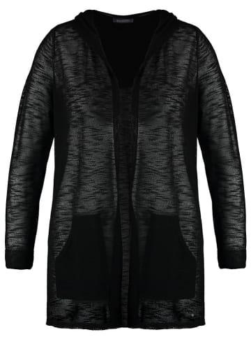 SAMOON Kardigan w kolorze czarnym