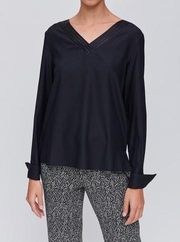 Strenesse Zijden blouse zwart
