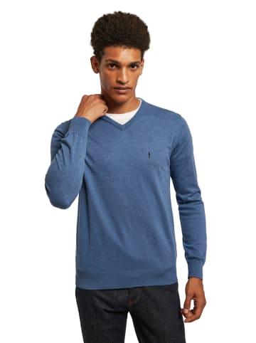 Polo Club Sweter w kolorze niebieskim