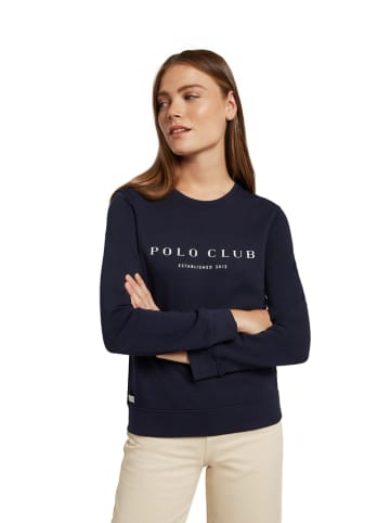 Polo Club Sweatshirt donkerblauw