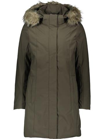 CMP Płaszcz zimowy w kolorze oliwkowym