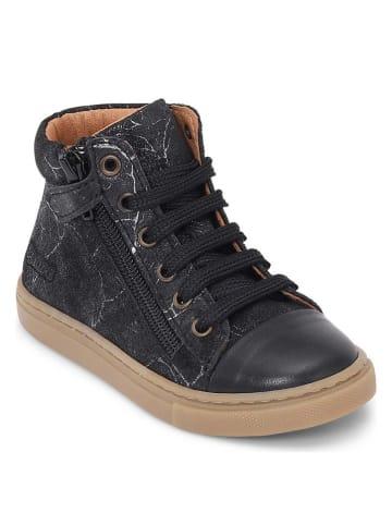 """Bundgaard Skórzane sneakersy """"Rie"""" w kolorze czarnym"""