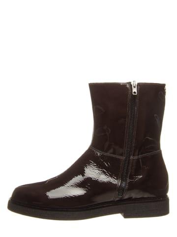 Otto Kern Leren boots antraciet