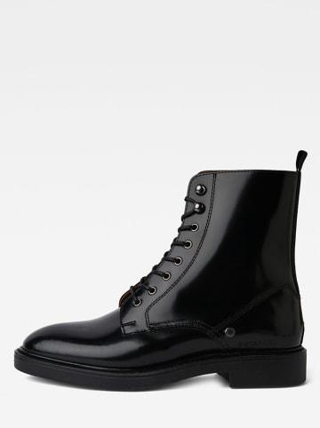 """G-Star Skórzane botki """"Corbel Boot"""" w kolorze czarnym"""