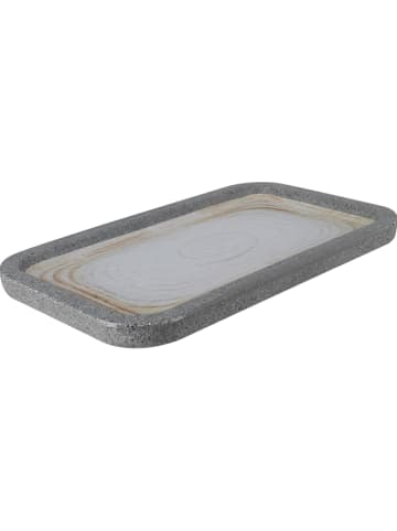 "Ogo Living Serveerplaat ""Greypearl"" grijs - (L)27 x (B)16 cm"