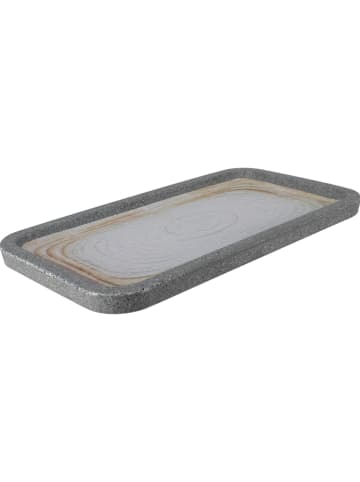 "Ogo Living Serveerplaat ""Greypearl"" grijs - (L)33 x (B)18 cm"