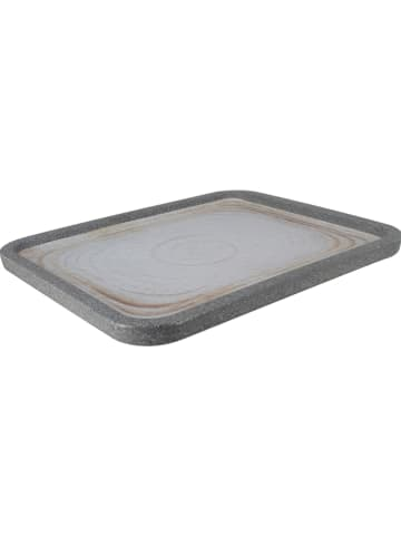 "Ogo Living Serveerplaat ""Greypearl"" grijs - (L)33 x (B)27 cm"