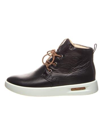 """Ecco Skórzane sneakersy """"Corksphere"""" w kolorze brązowym"""