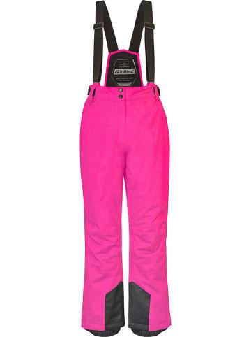 """Killtec Spodnie narciarskie """"Erielle"""" w kolorze różowym"""