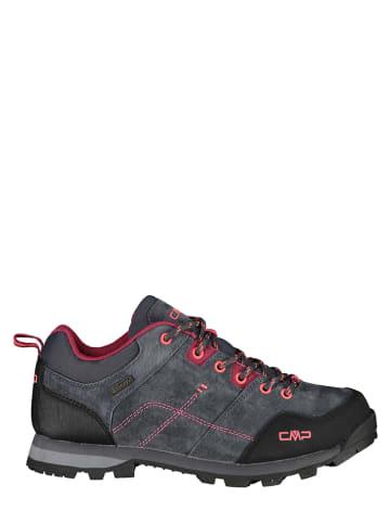 CMP Skórzane buty trekkingowe w kolorze antracytowym