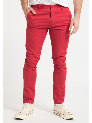 DreiMaster Spodnie w kolorze czerwonym