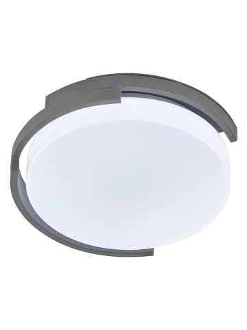 FH Lighting LED-Deckenleuchte in Weiß/ Grau - Ø 30 cm