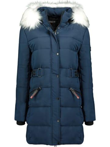 """Geographical Norway Płaszcz zimowy """"Berte"""" w kolorze granatowym"""