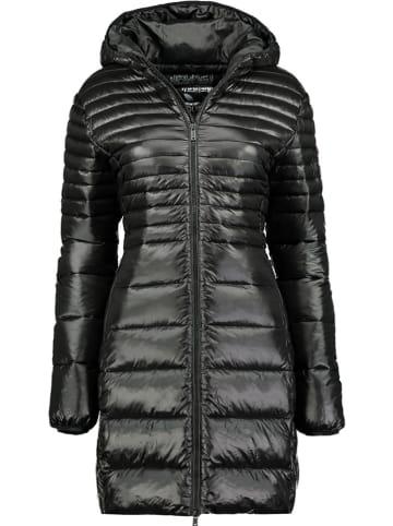 """Geographical Norway Płaszcz zimowy """"Bodet"""" w kolorze czarnym"""