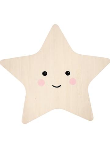 "Reer Ledwandlamp ""Lumilu Silhouette Light - Star"" beige - (H)26 cm"