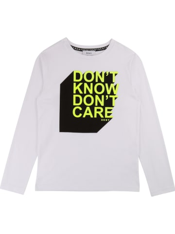 DKNY Koszulka w kolorze białym