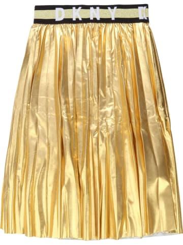 DKNY Spódnica w kolorze złotym