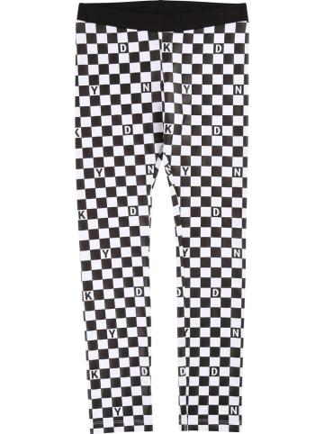 DKNY Legging zwart/wit