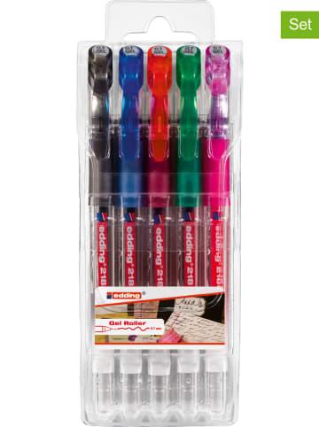 """Edding Długopis żelowy """"2185"""" - 2 x 5 szt."""